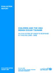 ResourceSS_UNICEF Tsunami Eval