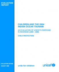 ResourceSS_unicef tsunami eval indonesia