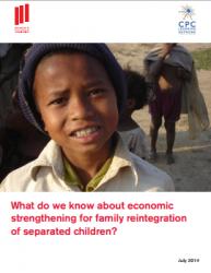 Livelihoods report frontpage