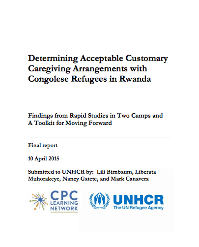 Determining Acceptable Customary Caregiving Arrangements with Congolese Refugees in Rwanda